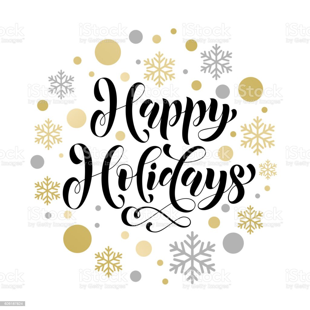 christmas background pattern happy holidays decorative vector stock rh istockphoto com happy holidays card vector happy holidays banner vector