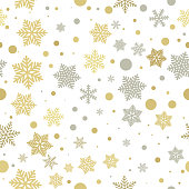 Christmas background pattern New Year decorative vector