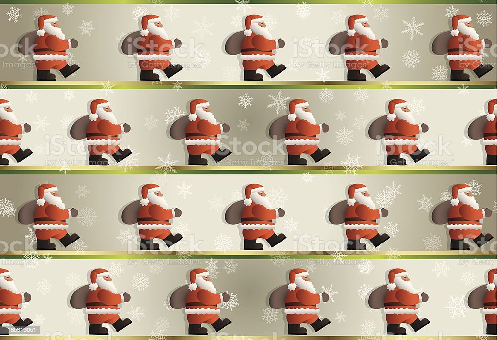 Christmas Background Pattern royalty-free stock vector art