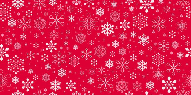 Christmas Background. Seamless pattern. vector art illustration