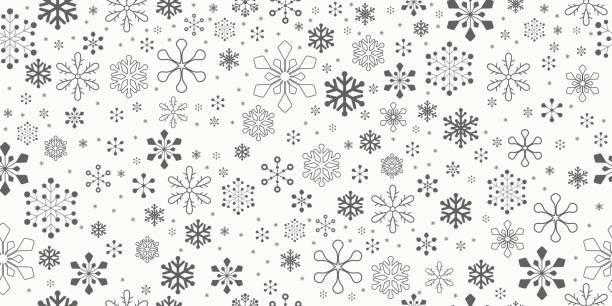 Christmas Background. Seamless. vector art illustration