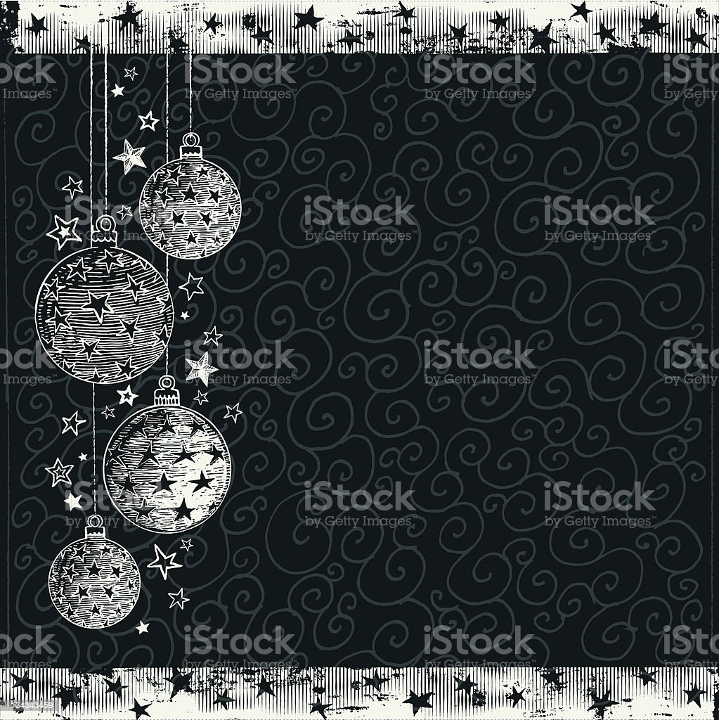 Christmas Background Sketch royalty-free christmas background sketch stock vector art & more images of backgrounds