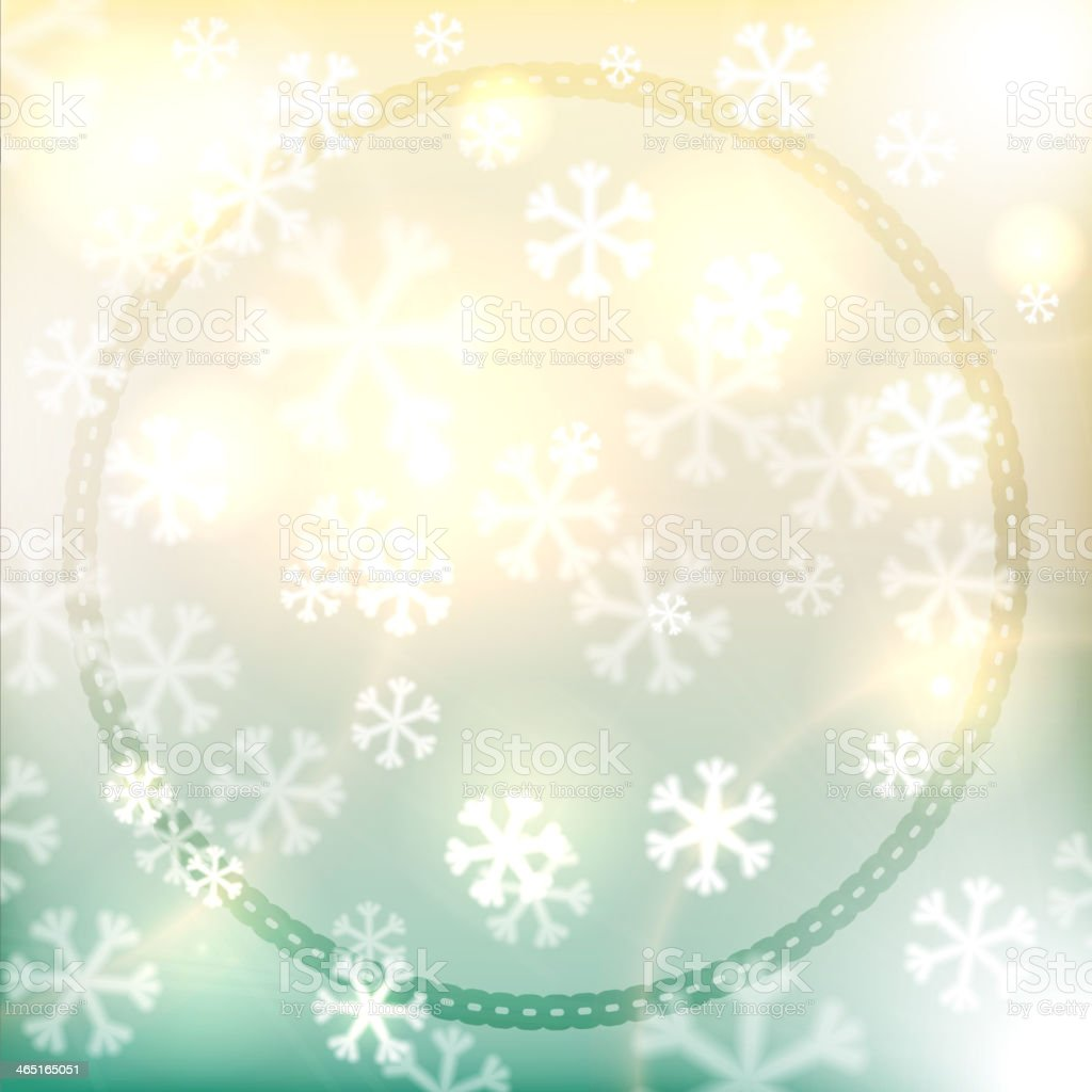Christmas background, snowflakes and soft colors royalty-free stock vector art