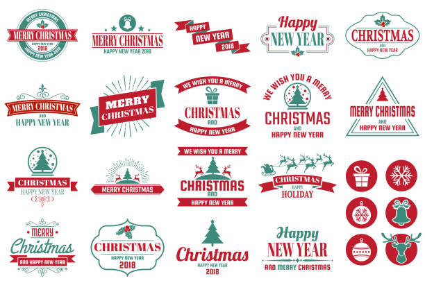 christmas background vector background for banner - christmas background stock illustrations