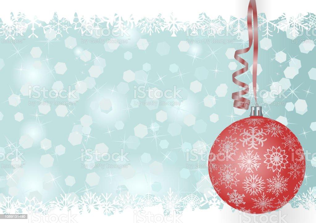 Fondo de Navidad - ilustración de arte vectorial