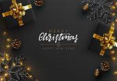 istock Christmas background. 1284160667