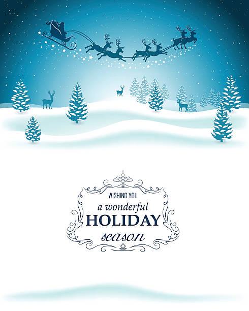 クリスマスの背景 - トナカイ点のイラスト素材/クリップアート素材/マンガ素材/アイコン素材