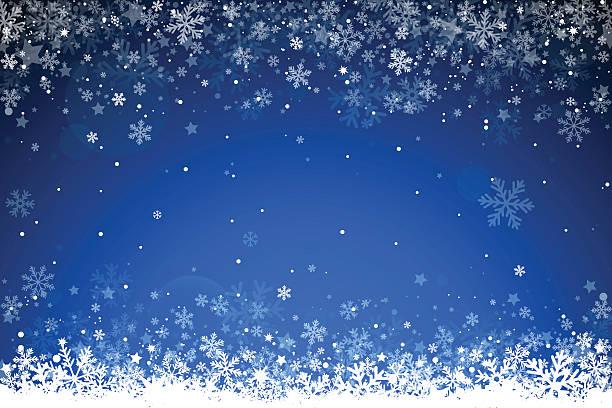 stockillustraties, clipart, cartoons en iconen met christmas background - snowing