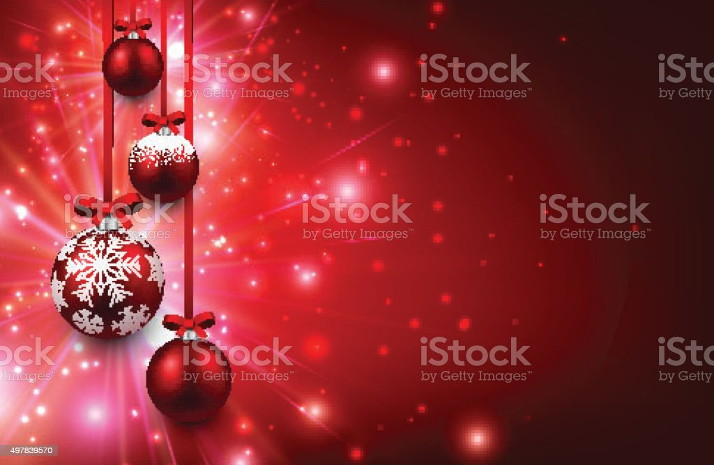 Christmas Background Stock Illustration - Download Image Now