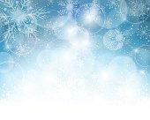 Christmas Snowflake Background. EPS 10.
