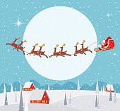 vector illustration - Christmas background