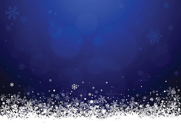 クリスマスの背景  - 雪景色点のイラスト素材/クリップアート素材/マンガ素材/アイコン素材