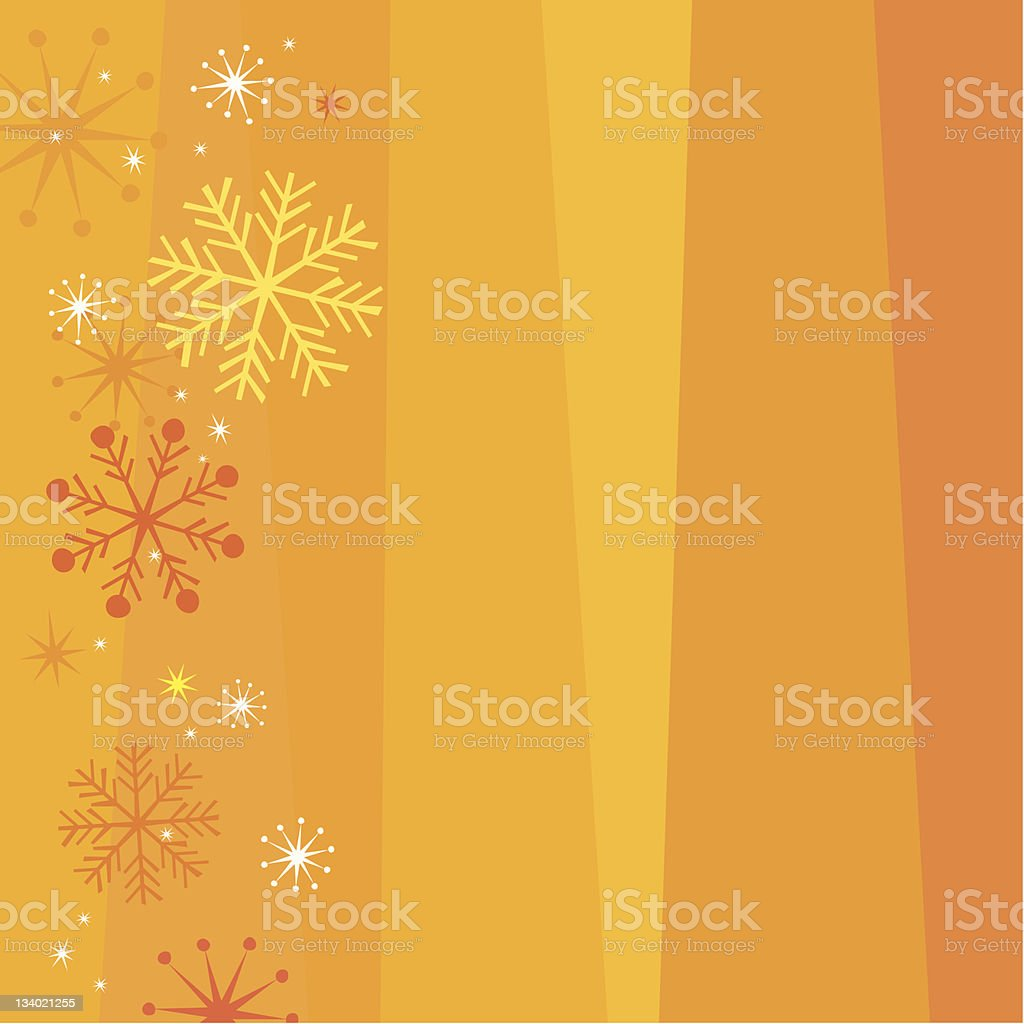 Christmas background - warm royalty-free stock vector art