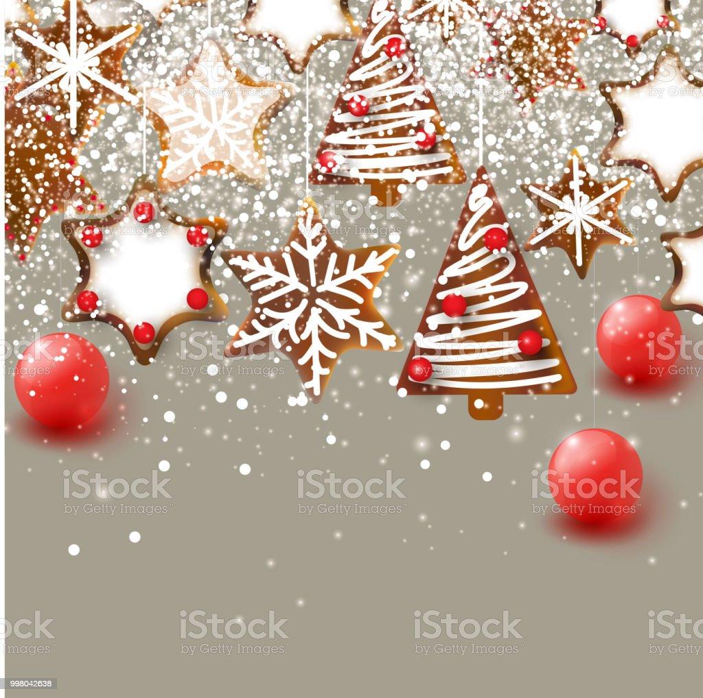 Weihnachten Hintergrund.Weihnachten Hintergrund Weihnachten Pfefferkuchen Xmas Dekoelemente
