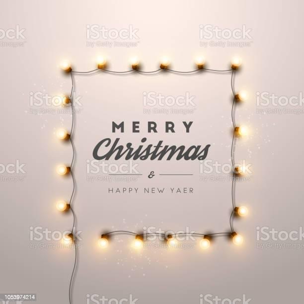 크리스마스 배경 크리스마스 불빛입니다 0명에 대한 스톡 벡터 아트 및 기타 이미지