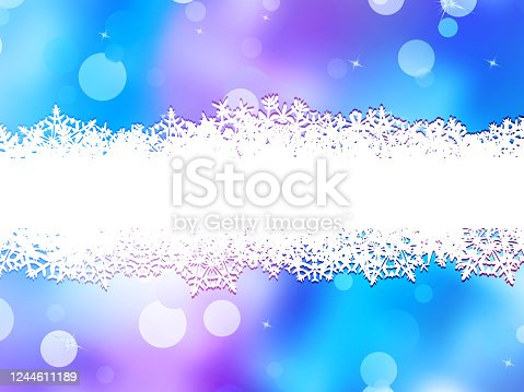 istock Christmas background with copy space. EPS 10 1244611189