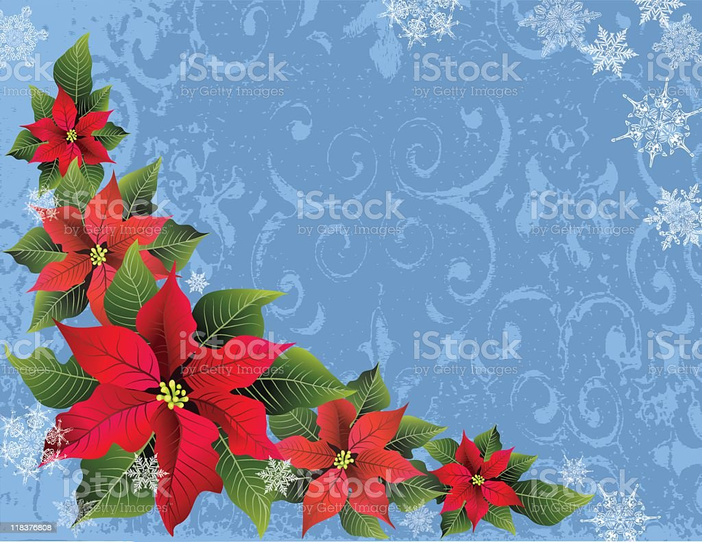 Christmas Background with Copy Space royalty-free stock vector art