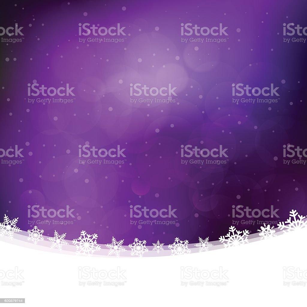Christmas background with purple lilac snowing winter sky and landscape christmas background with purple lilac snowing winter sky and landscape - stockowe grafiki wektorowe i więcej obrazów biały royalty-free