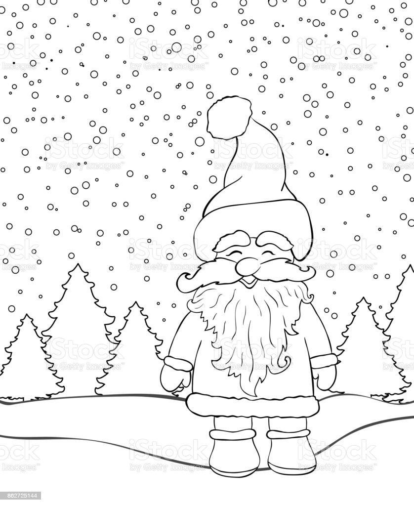 Nikolaus Knecht Ruprecht Ausmalbilder : Ungew Hnlich Santa Bilder Zum Ausmalen Zeitgen Ssisch Entry Level