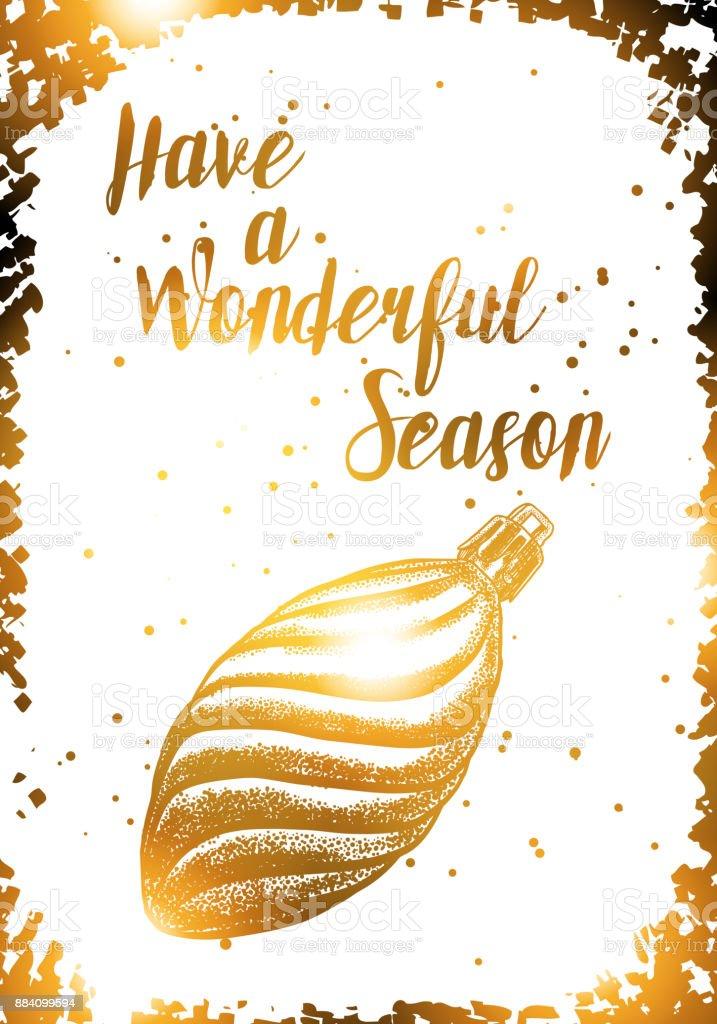 Schriftzug Frohe Weihnachten Zum Ausdrucken.Weihnachten Hintergrund Mit Glänzendem Gold Färbung Schriftzug Frohe