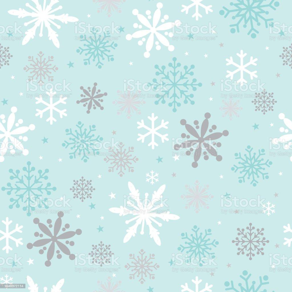 Vetores De Fundo De Natal Com Desenho De Flocos De Neve E Mais