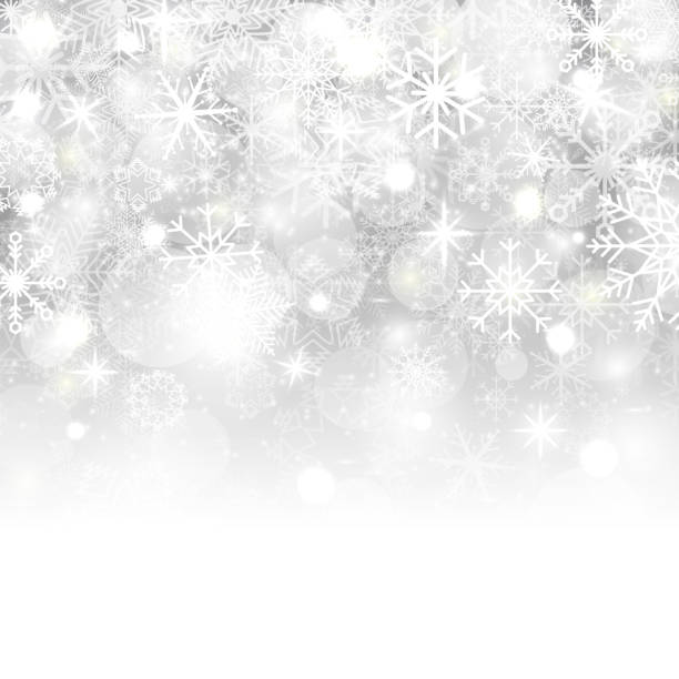 Christmas background with snowflakes, stars, snow and place for text. Vector Illustration Christmas background with snowflakes, stars, snow and place for text. Vector Illustration. holiday background stock illustrations