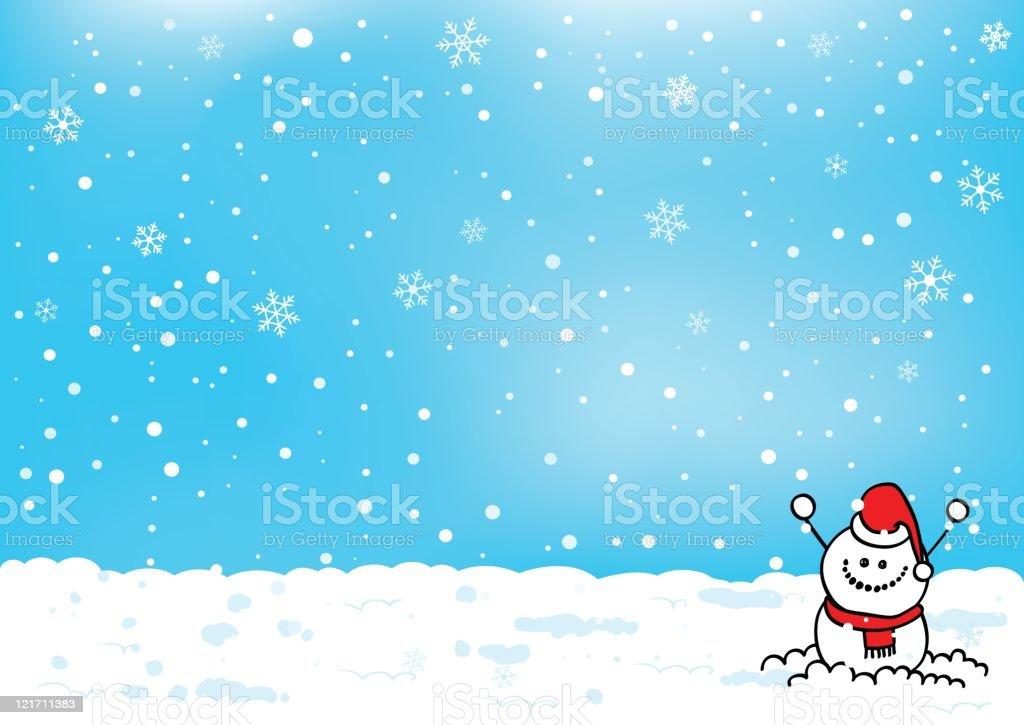 The Best Christmas Background Cartoon