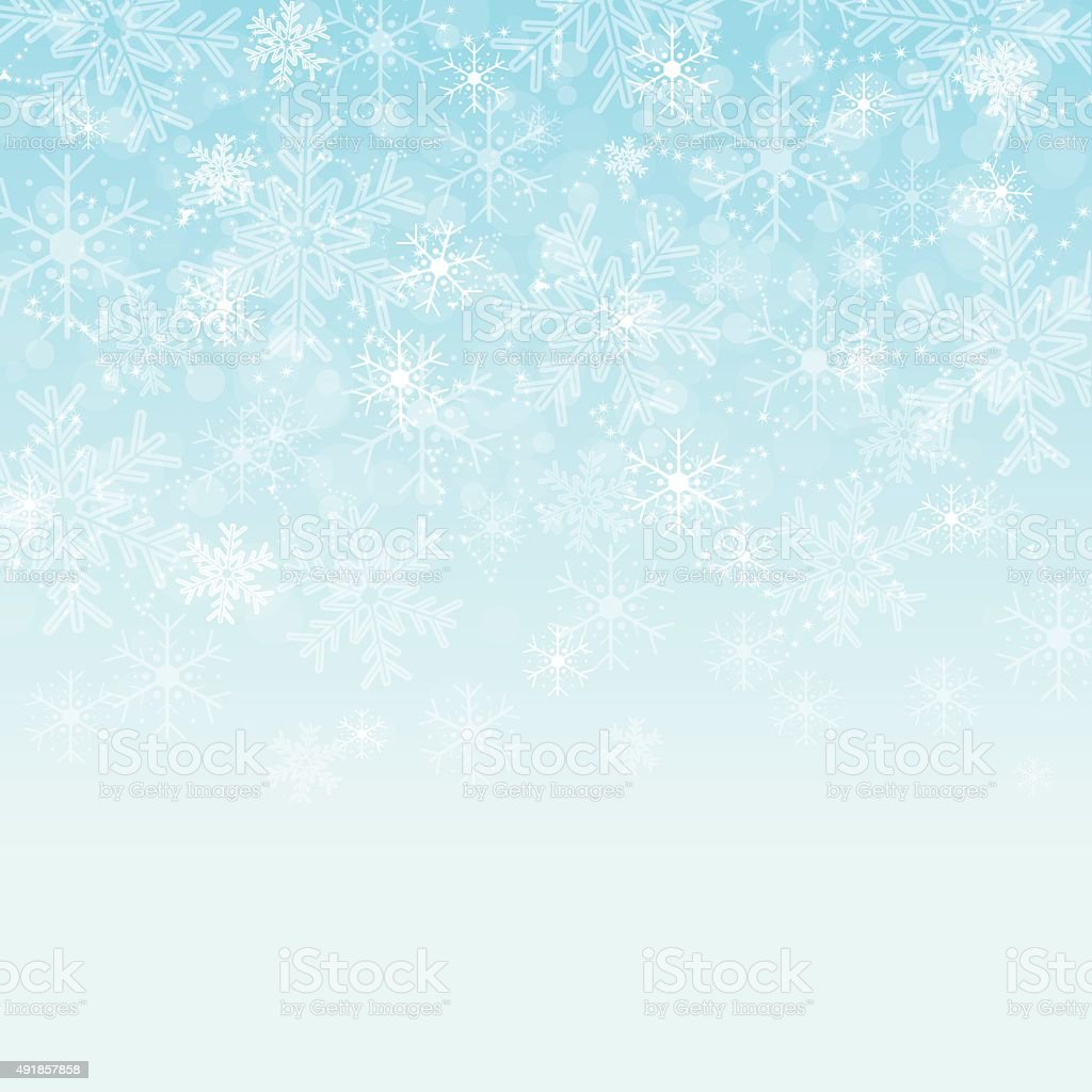 Christmas background with space for text vector art illustration
