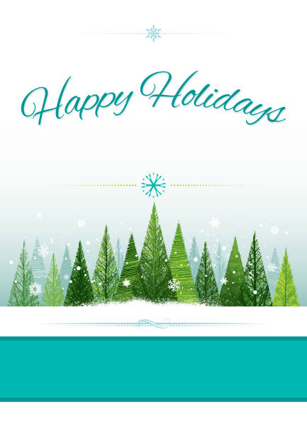 christmas backgrounds - happy holidays stock illustrations, clip art, cartoons, & icons