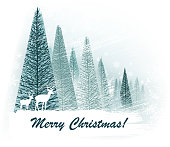 design of vector christmas nature.