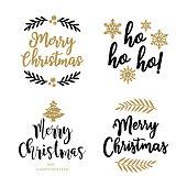 istock Christmas Badges 1280384496