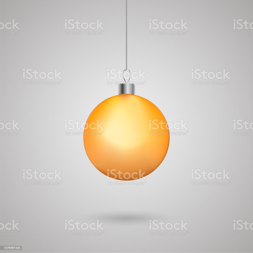 Christmas ball. Merry Christmas and Happy New Year