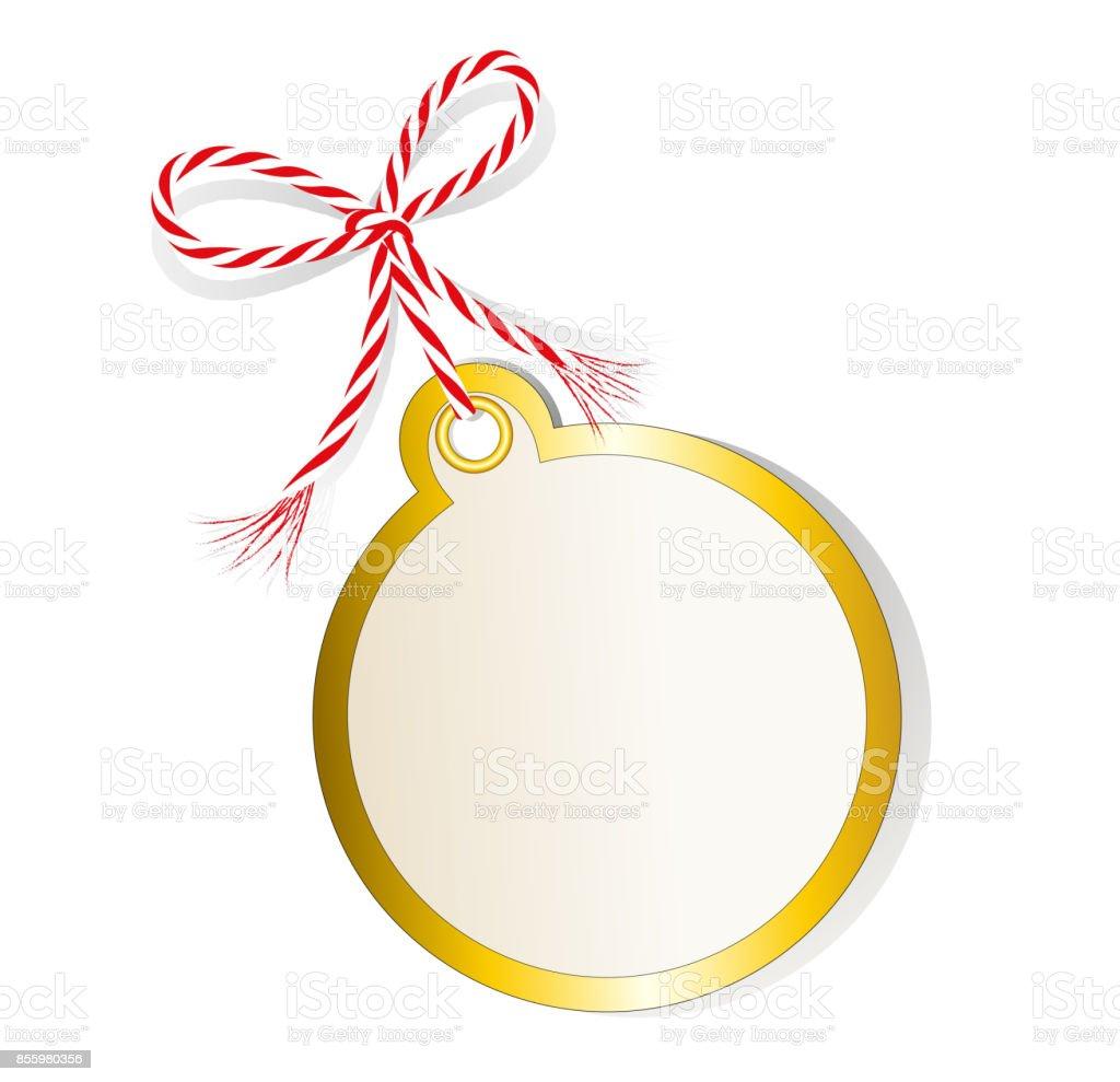 Weihnachtskugel Label Preisschild Geschenkanhänger Verkauftag ...