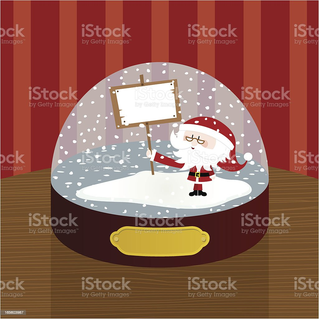 Christmas ball vector art illustration