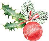 istock Christmas ball 529239913