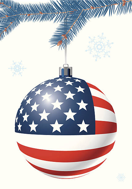 Best Patriotic Christmas Illustrations, Royalty-Free ...