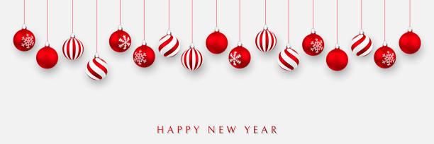 stockillustraties, clipart, cartoons en iconen met kerst bal. xmas bal op witte achtergrond. vakantie decoratie sjabloon. vector illustratie - kerstbal