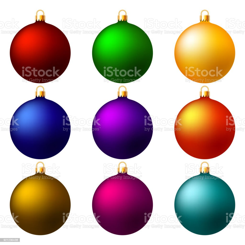 christmas balls christmas decorations royalty free christmas balls christmas decorations stock vector art