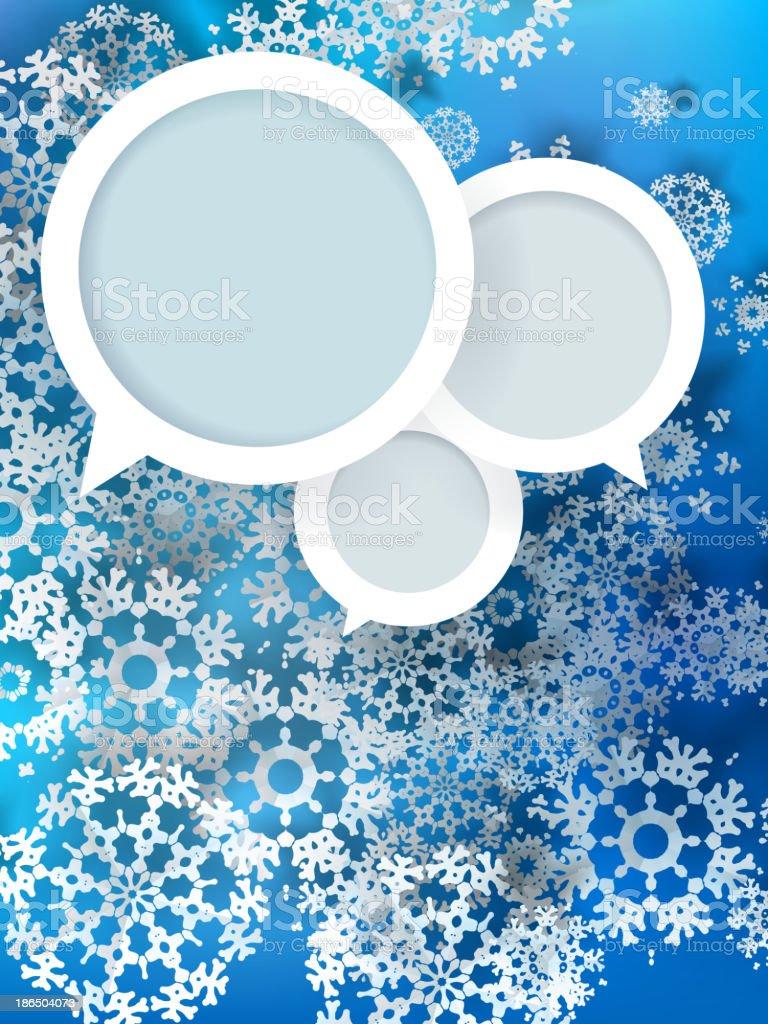 Christmas balls design (cut the paper). royalty-free stock vector art