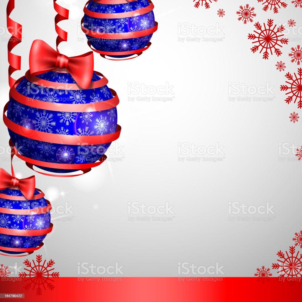 Christmas balls. royalty-free stock vector art