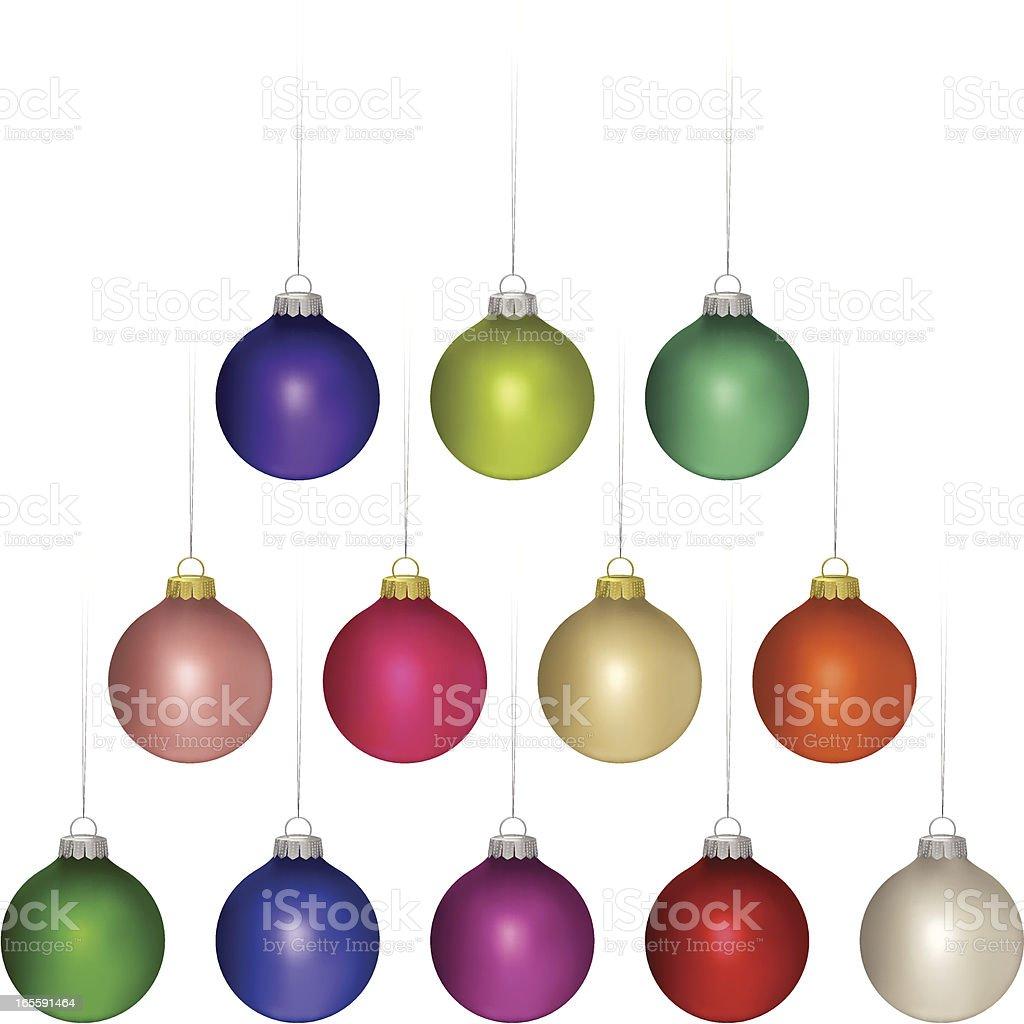Christmas balls royalty-free christmas balls stock vector art & more images of blue