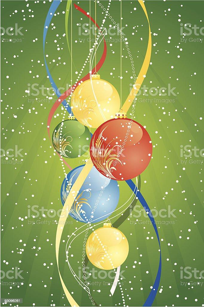 Christmas balls royalty-free christmas balls stock vector art & more images of abstract