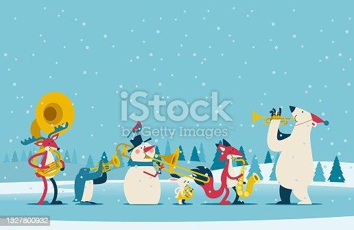 istock christmas band 1327800932
