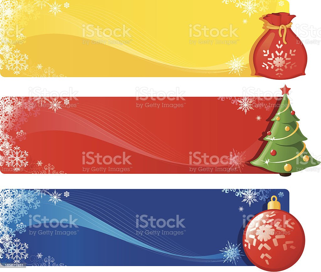 Christmas banner royalty-free stock vector art