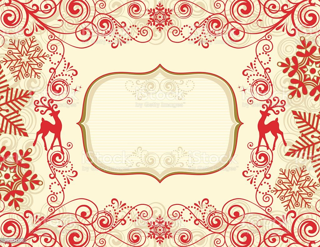 Christmas Banner royalty-free christmas banner stock vector art & more images of animal markings