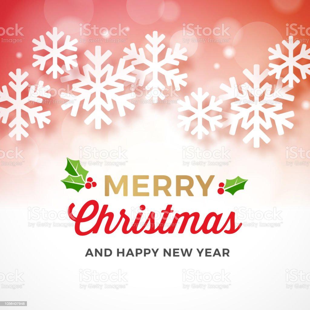 Weihnachtsbanner Mit Papier Schneeflocken Stock Vektor Art Und Mehr
