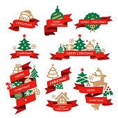 Christmas, Banners,