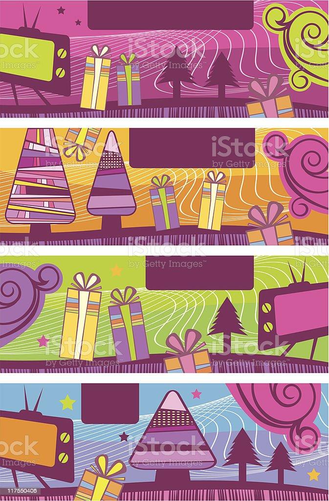 Christmas banners  Christmas stock vector
