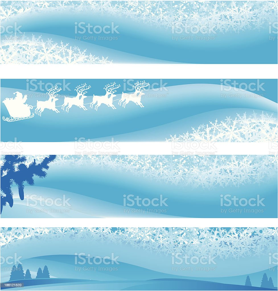 Christmas banners royalty-free christmas banners stock vector art & more images of backgrounds