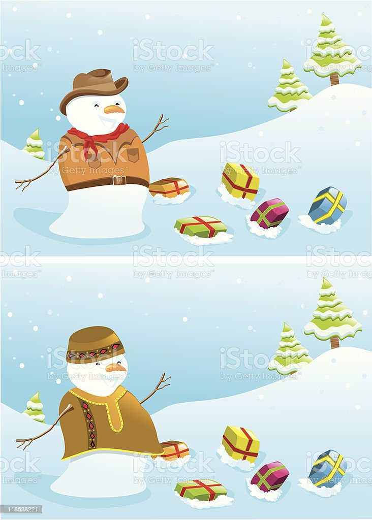 Christmas banners with snowmen. royalty-free christmas banners with snowmen stock vector art & more images of african hat